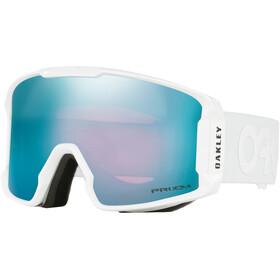 Oakley Line Miner Gafas de Nieve Hombre, matte white/w prizm sapphire iridium